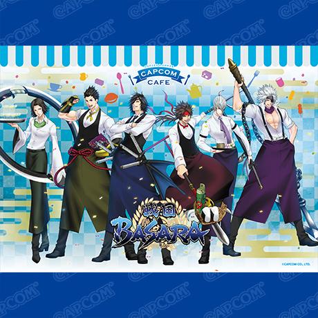 カプコンカフェ イオンレイクタウン店「戦国BASARA」シリーズとのコラボが決定!6名の武将によるスタイリッシュなメインビジュアル公開!