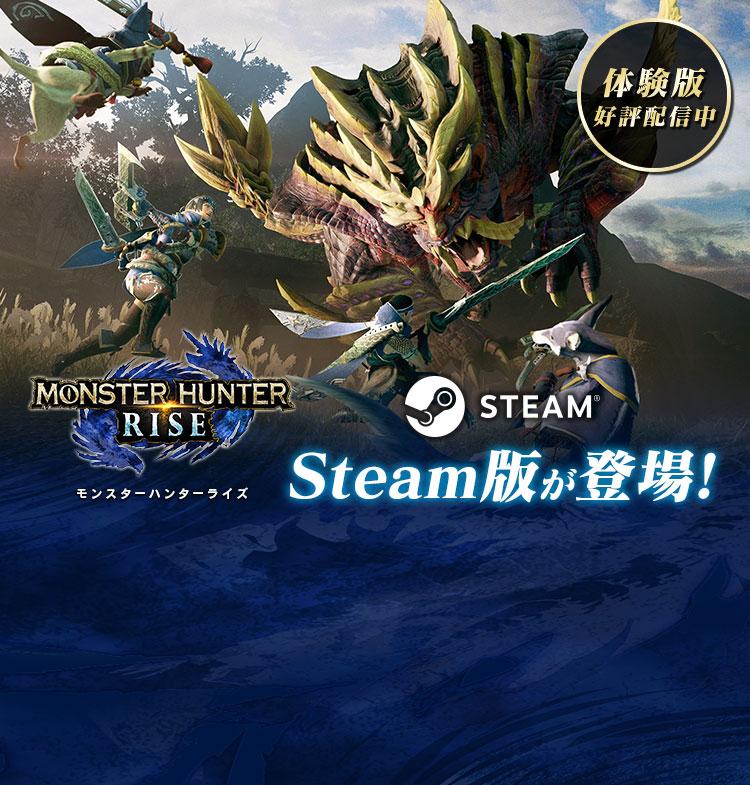 モンスターハンターライズ Steam版