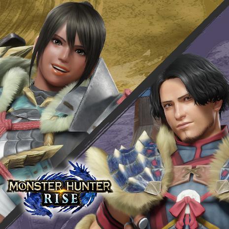 『モンスターハンターライズ』追加ボイスをイメージした「裏設定的なキャラクター」を公開!